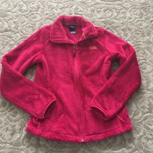 North face women size small pink